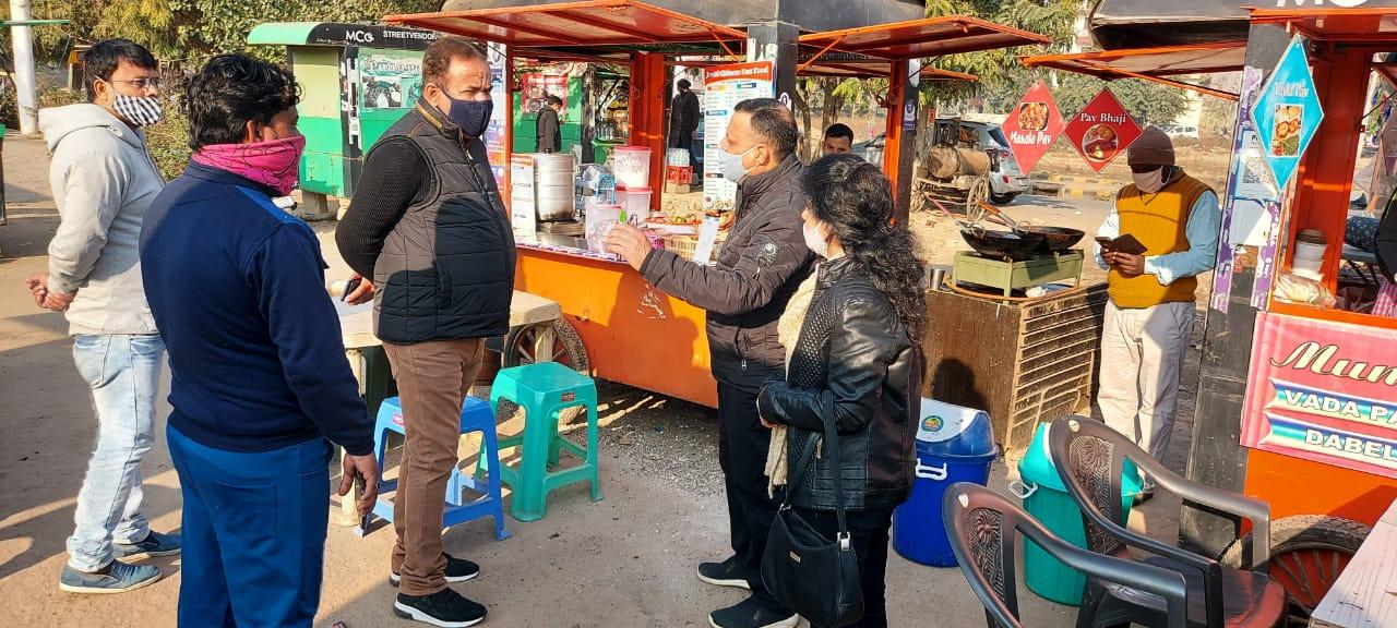 दामन-चोली का साथ अभियान के तहत बाजारों में हुए कार्यक्रम