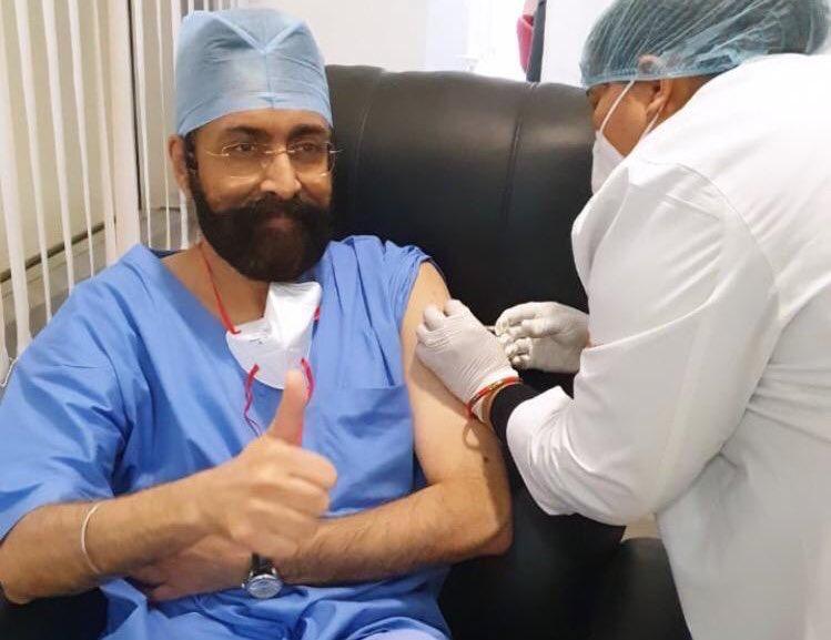 Medanta Staff to Receive COVID-19 Vaccination