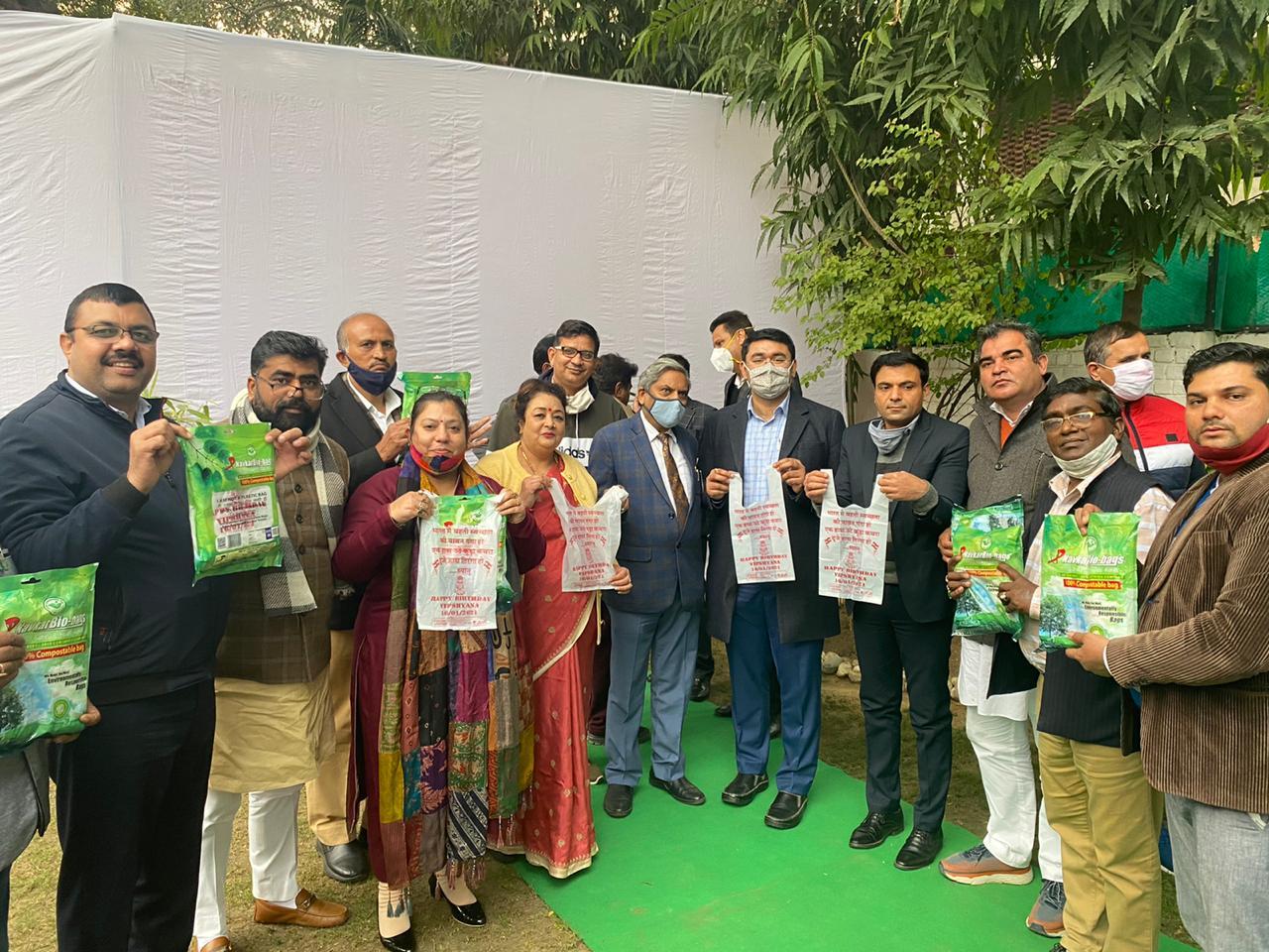 संयुक्त आयुक्त धीरज कुमार ने बेटी के जन्मदिन को स्वच्छता दिवस के रूप में मनाया