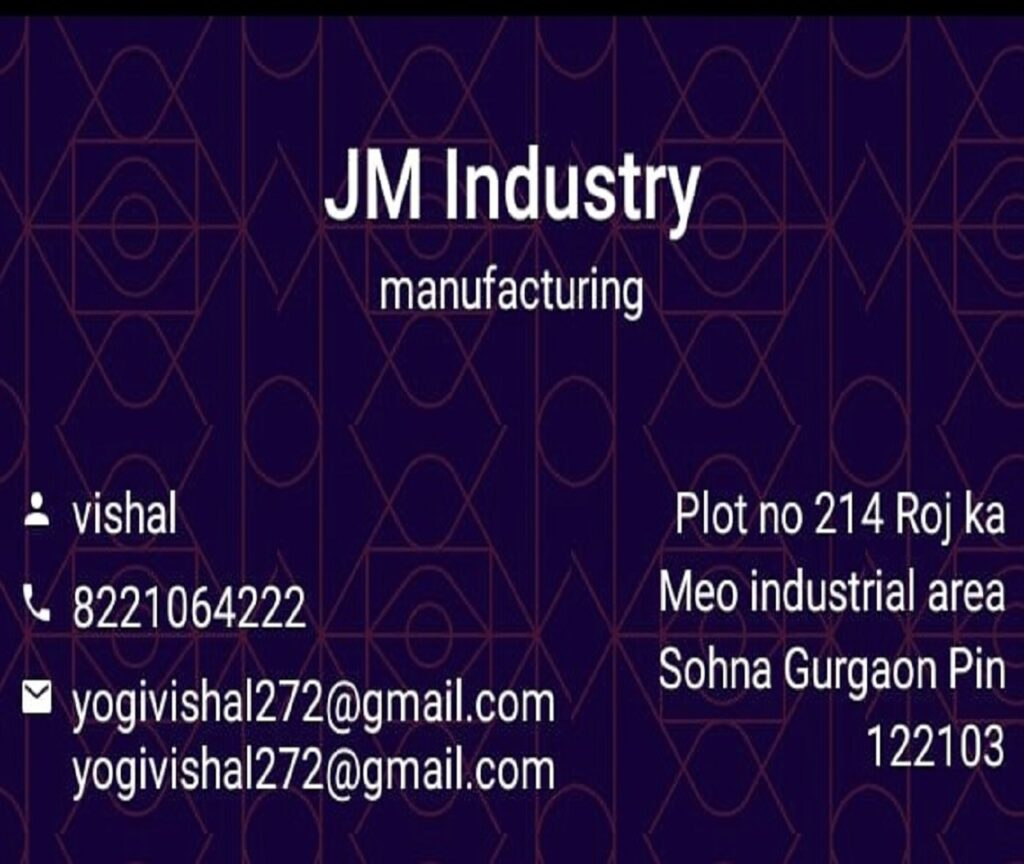 JM Industry – Manufacturing