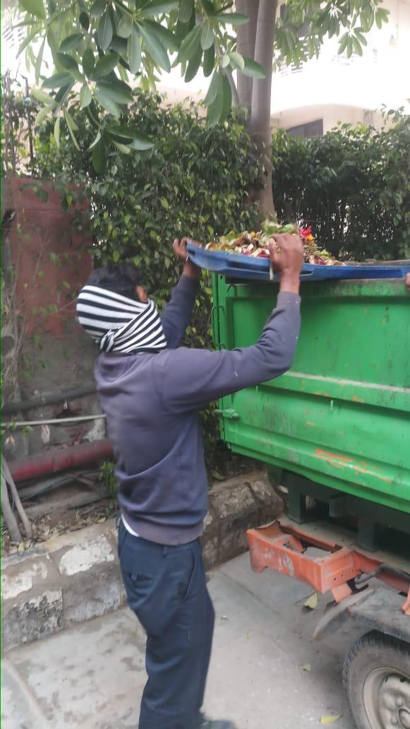सोमवार को आयोजित जीरो वेस्ट डे के तहत कलेक्ट हुआ 110 टन गीला कचरा