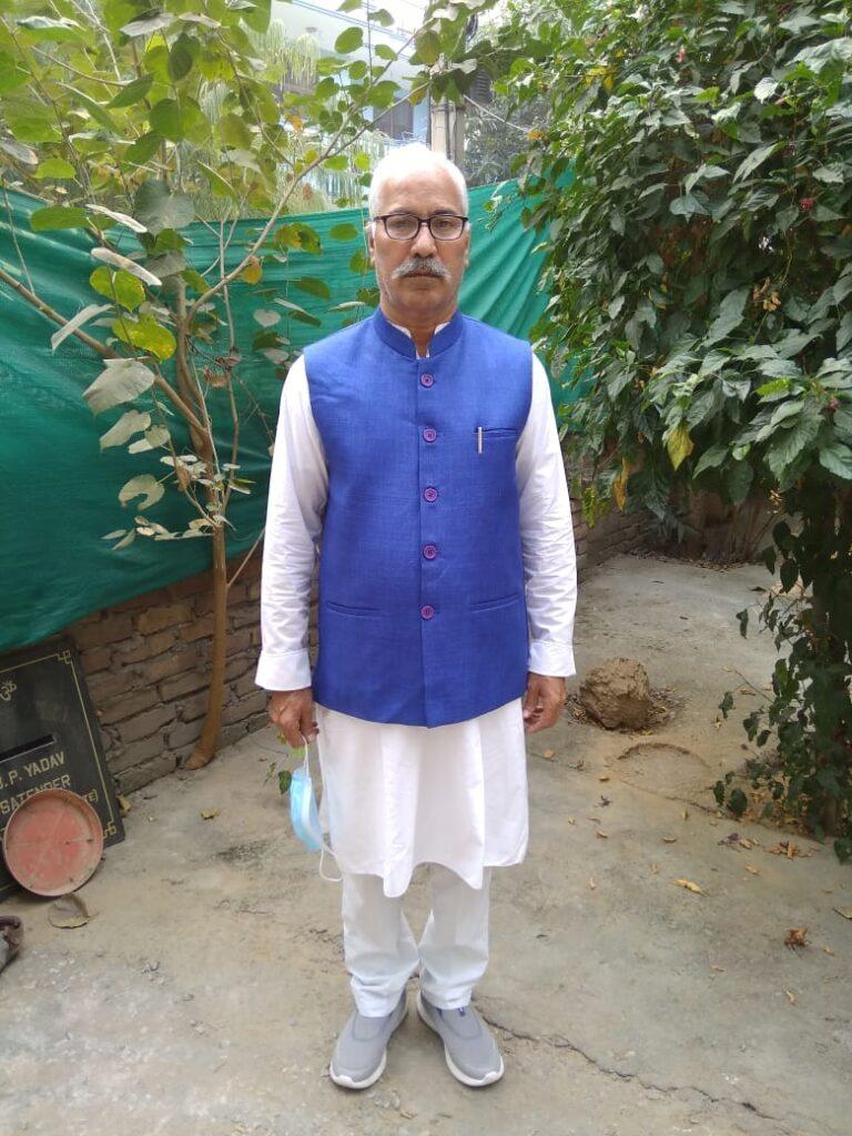 Birham Parkash Yadav (RWA, President)