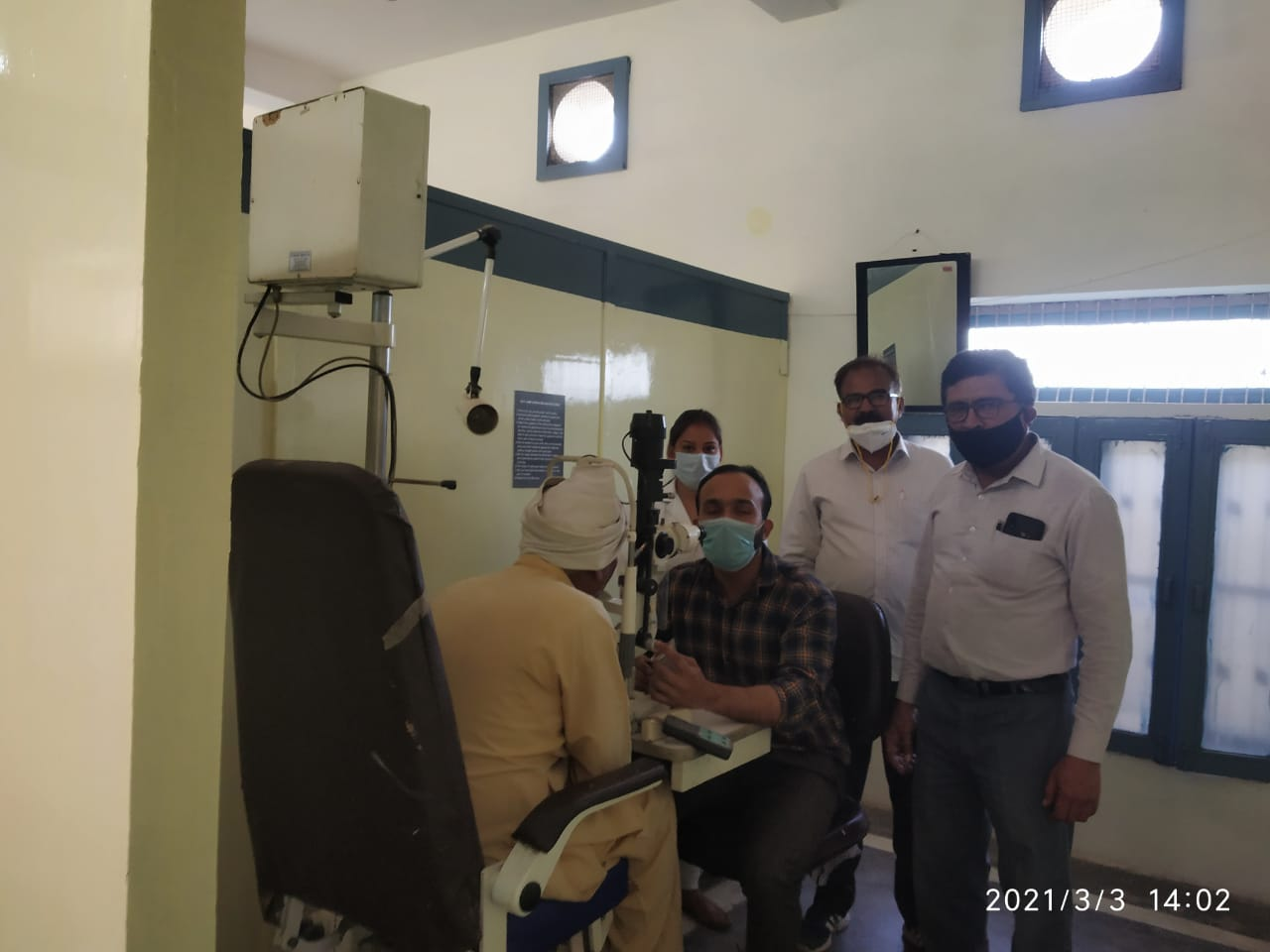 निरामया चैरिटेबल आई केयर सेंटर द्वारा पटौदी में हुआ नेत्र चिकित्सा शिविर का आयोजन - सूर्य देव