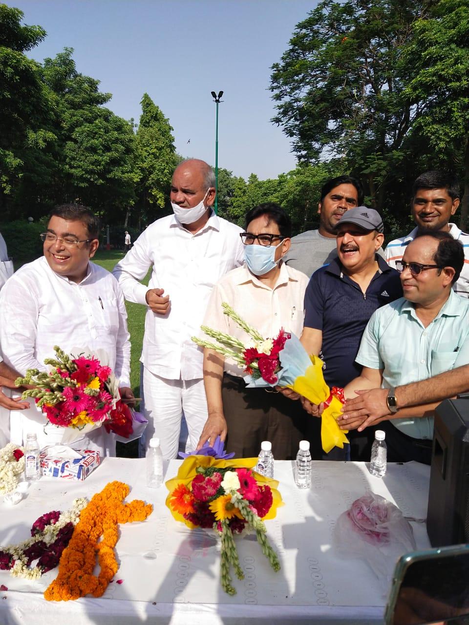 बोध राज सीकरी के सी. एस. आर. ट्रस्ट का वाईस चेयरमैन बनने पर नए गुरुग्राम में हुआ भव्य आयोजन
