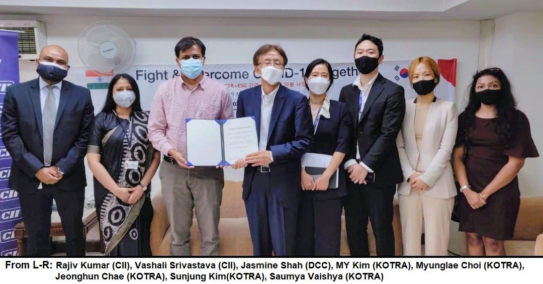 कोरियाई कंपनियां, कोतरा और सीआईआई ने दिल्ली सरकार को भारत में तीसरी कोविड लहर के लिए तैयार करने में मदद की