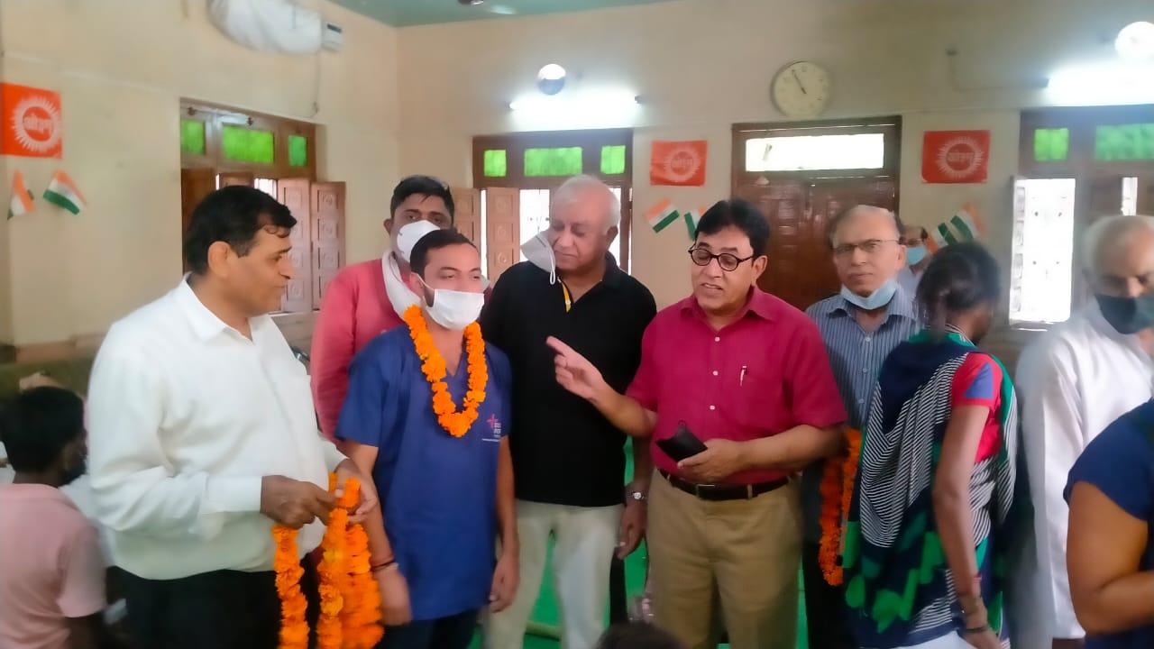 सीकरी के प्रयासों से अर्जुन नगर में हुआ टीकाकरण कैंप का आयोजन