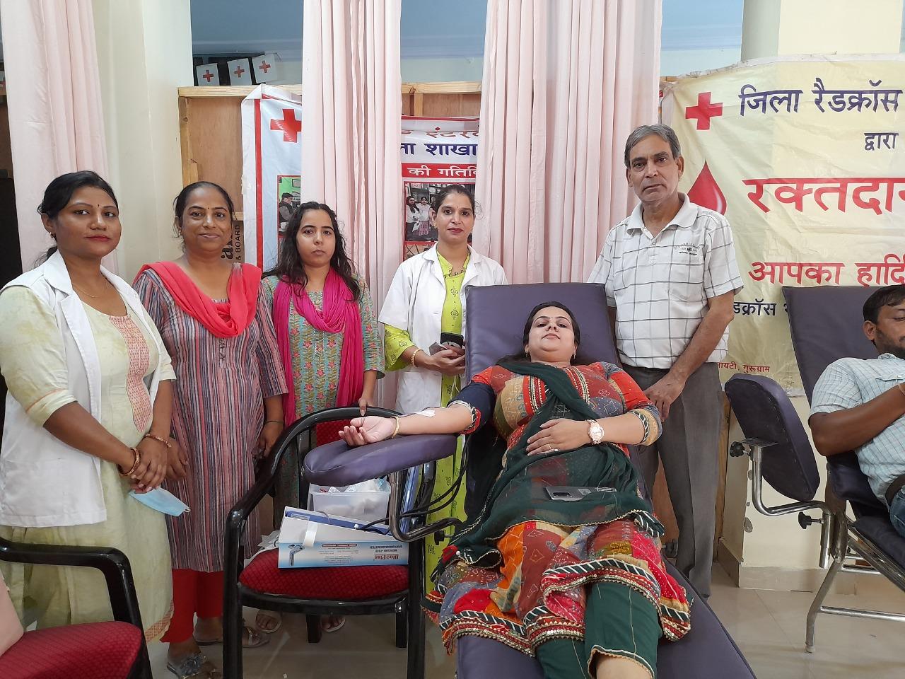 दिन-प्रतिदिन रक्तदान शिविर पर दिया जा रहा ध्यान : विकास कुमार
